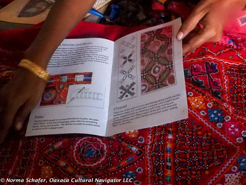 A visit to embroiderer Sofiya Mutwa, Dhordo, The Banni, Kutch
