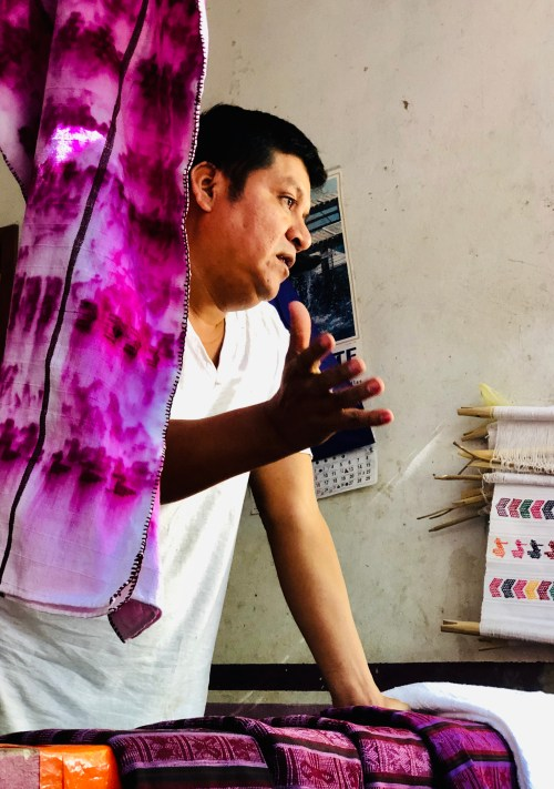 Purple snail dye on the coast of Oaxaca