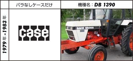 デビッド・ブラウントラクター1390 1983 J.I. Case 3.6L 4-cyl diesel 52 hp