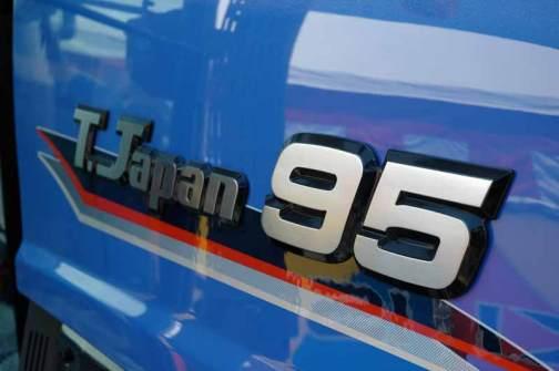 TJV95のバッジ