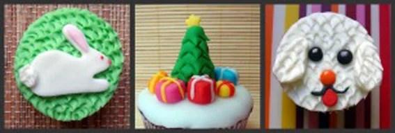 cupcake relevos