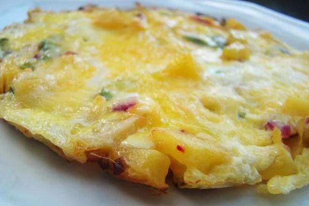 Maná-Cubiu Omelete