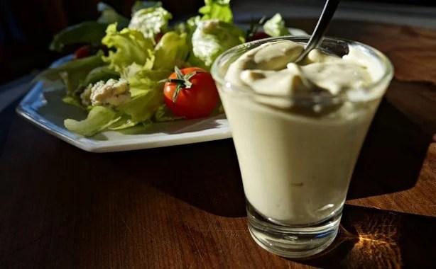 Molho cremoso de gorgonzola