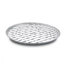 Tácka na gril okrúhla ALU O 34 cm