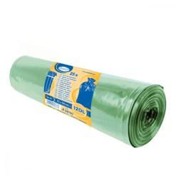 Vrecia na odpadky 70x110cm zelené