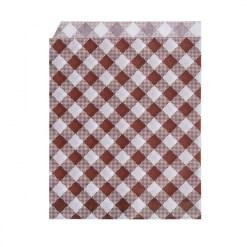 Papierové vrecká KARO 14 x 19 cm