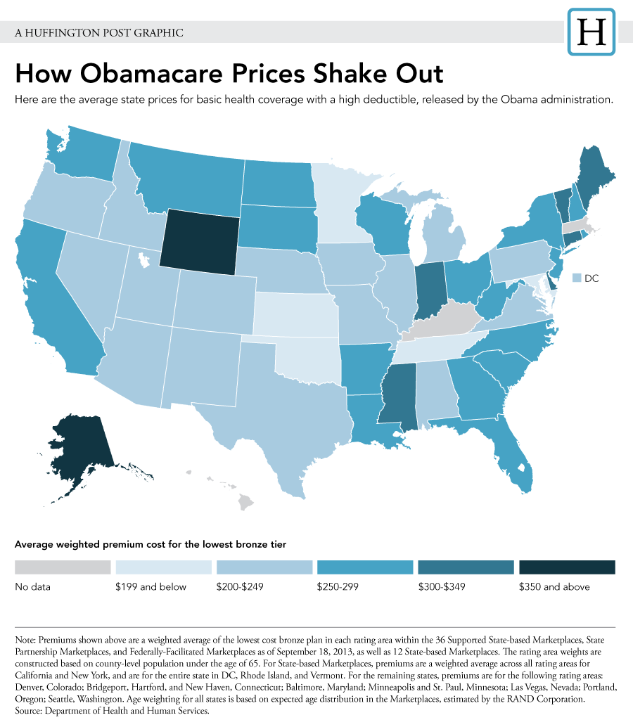 Image result for the impact of obamacare in four maps