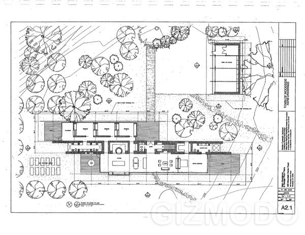 Steve Jobs Plans to Build Modest House / iHouse Nano