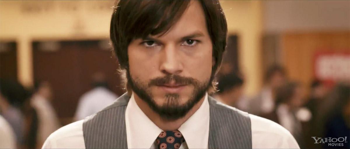 Ashton Kutcher Steve Jobs movie   Obama Pacman