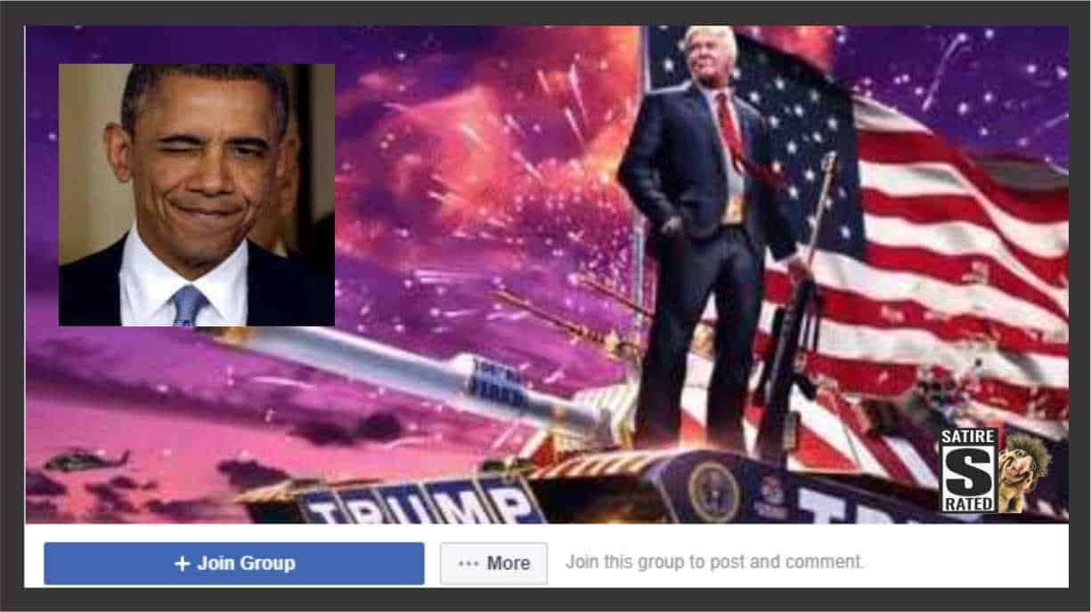 Obama Runs One of the Biggest Conservative Groups on Facebook