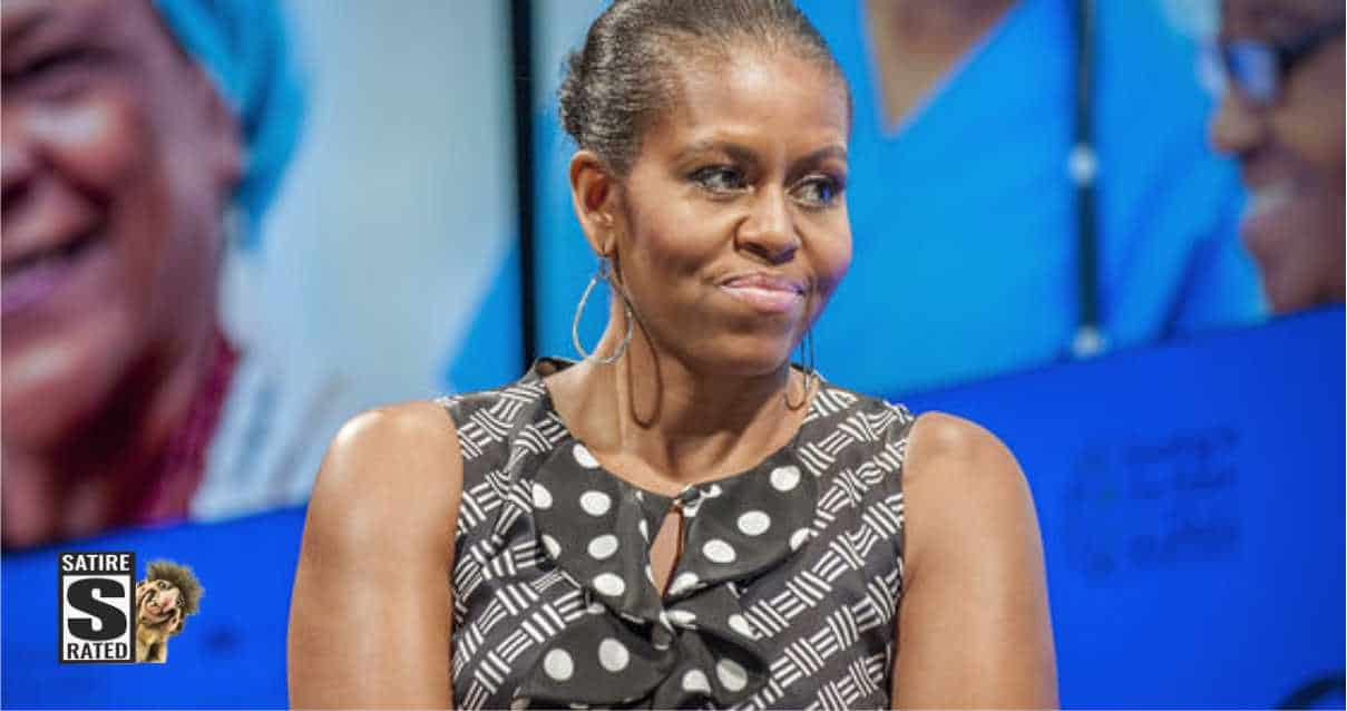Michelle Obama Slips Up and Admits She's a Man