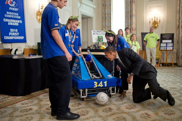 Announcing White House Science Fair And Celebrating