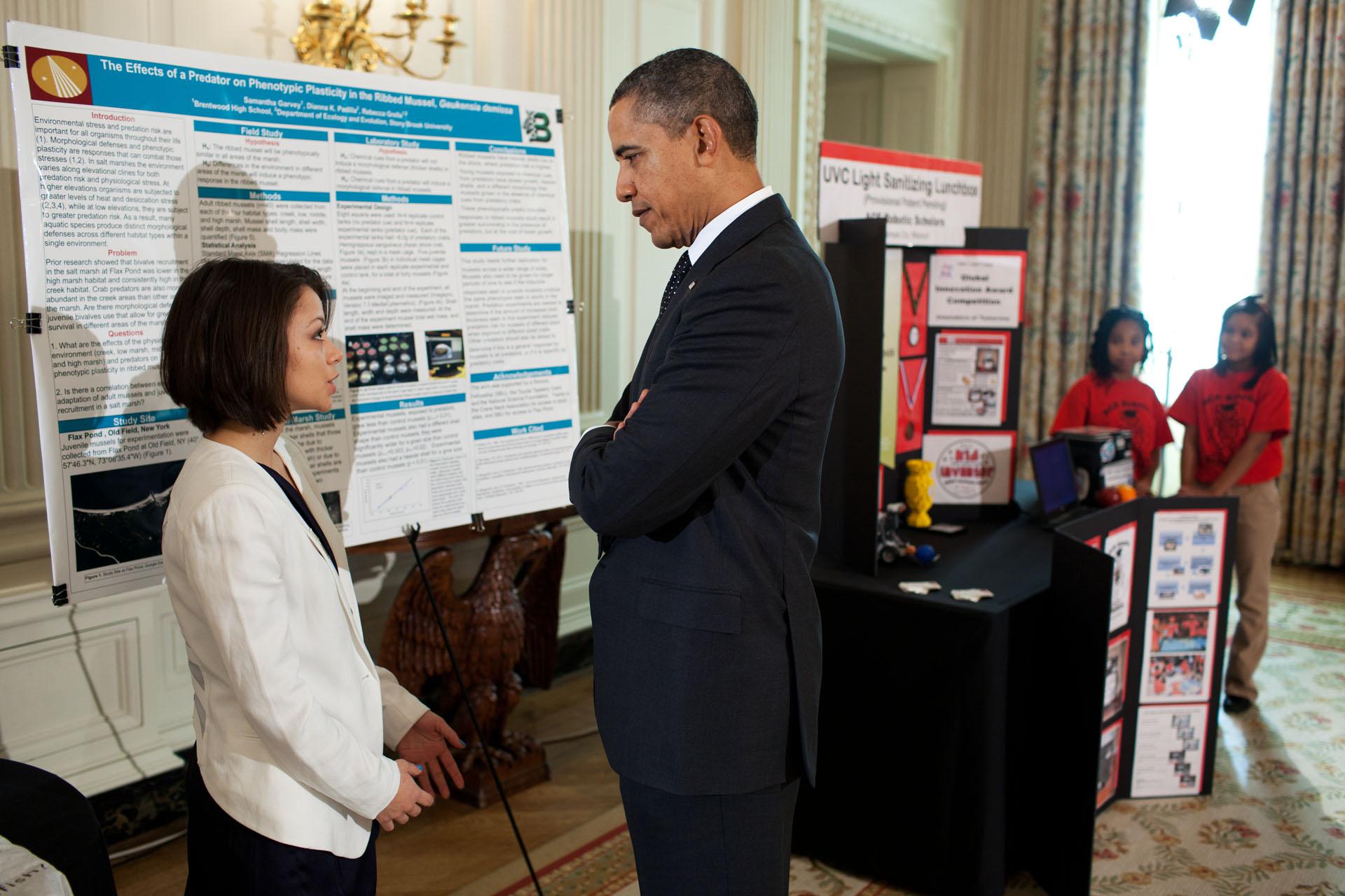 hight resolution of President Obama Hosts the White House Science Fair   whitehouse.gov