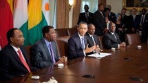 President Obama Meets With Leaders Of Nations Representing