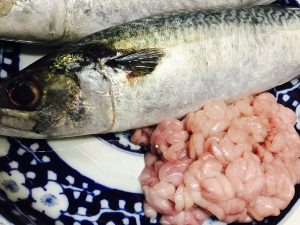 鯖と濃厚真鱈白子