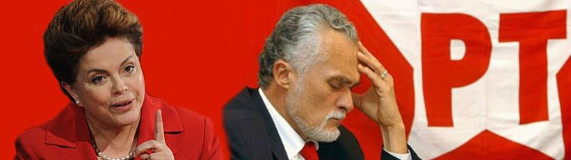 Dilma reafima preocupação quanto à saúde de José Genoino