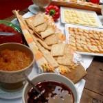 Buffet - queijos e compotas