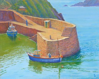 Boscastle Castle Harbour