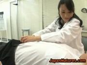 北原夏美のエロ診察が堪らないjyukujo動画