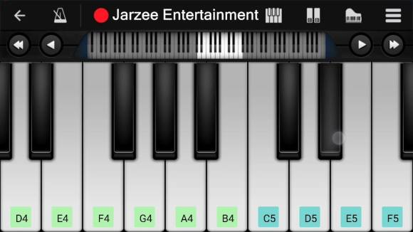 Perfect Piano app