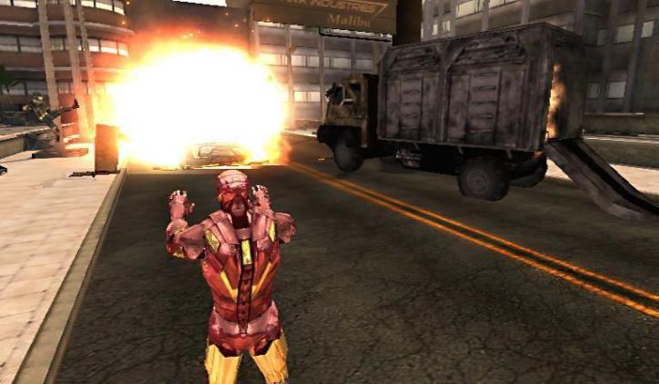 IronMan 2 8 psp game