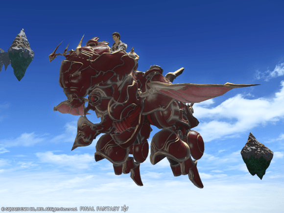 Mog Station Sales - Mount: Red Baron (Single Character)