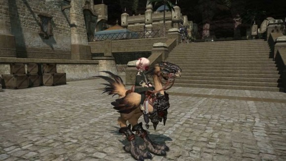 Final Fantasy XIV: A Realm Reborn - Legacy Chocobo - YouTube