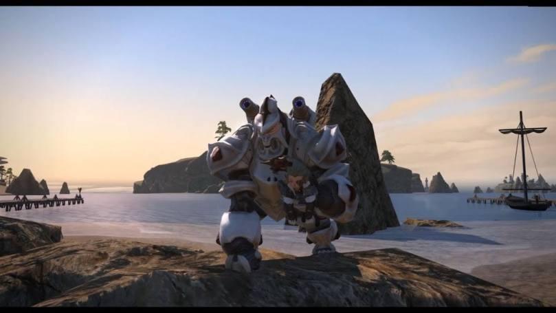 FFXIV] Magitek Avenger A-1 Mount (Hidden Gorge Gorilla Mech) - YouTube