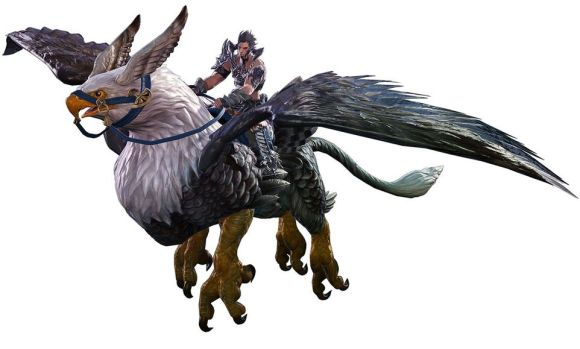 Final Fantasy XIV: Heavensward - Griffin Mount | Character art ...
