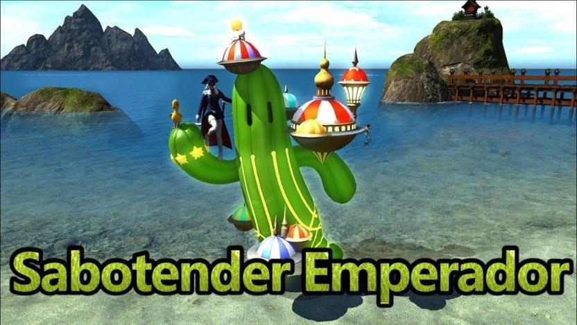 FFXIV: Sabotender Emperador Mount - YouTube