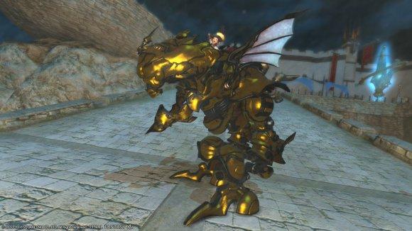 Gilded Magitek Armor