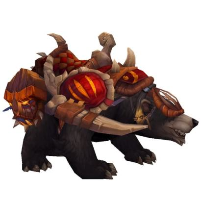 Warcraft Mounts: Amani War Bear