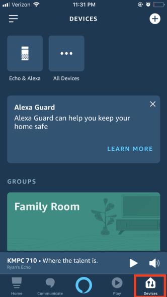 Change Alexa's Language