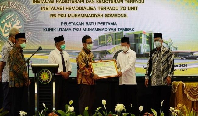 Menko PMK dan Menkes resmikan gedung isolasi di RS PKU Muhammadiyah Gombong