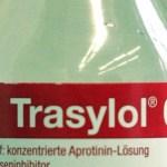 Trasylol yang mengandung aprotinin