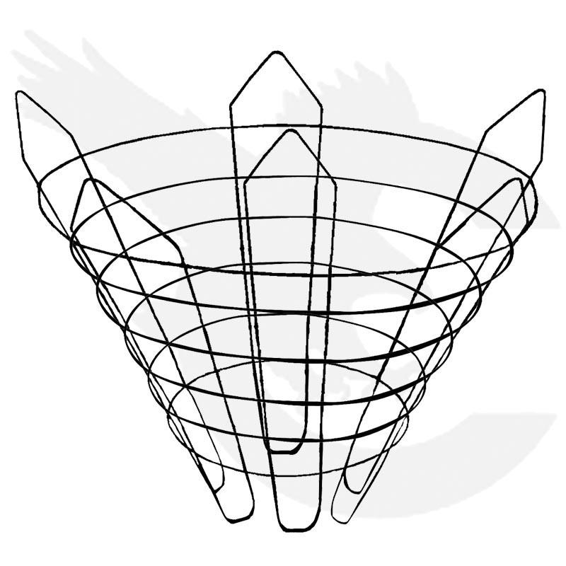 Large Vermeer Wire Baskets
