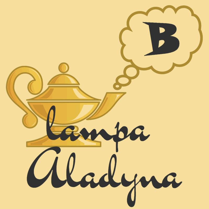 Lampa Aladyna - pisownia poprawna