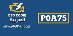 P0A75 – مولد المرحلة W الحالية