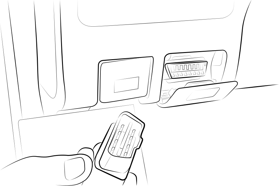 Plug your OBD-II scan tool