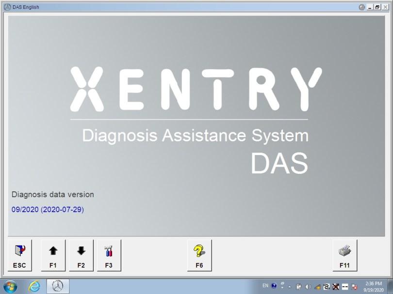 xentry diagnostic software v2020.9