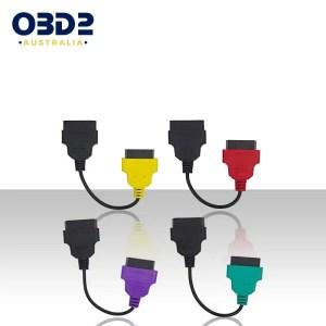 alfa fiat obd2 multiecuscan adaptor cable set a