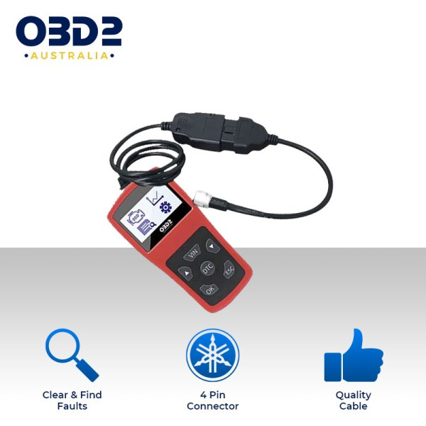 yamaha motorcycle obd scan tool a