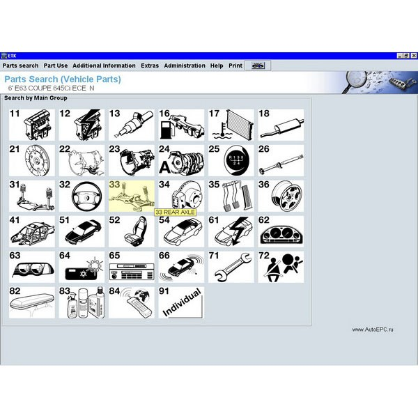 Bmw Etk 201501 Electroic Parts Catalog Download Online