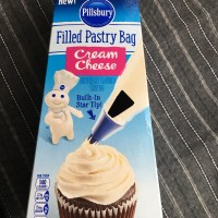 Phillsbury cream cheese frosting cupcakes