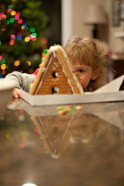 GINGERBREAD HOUSES!! Auntie Debbie picked these lovely A-Frames up at Trader Joes. Much love.