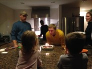 That night was capped off with some Thai and a Birthday Cake :) Happy birthday, Uncle Brad!