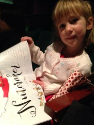 I took Evelyn to the Nutcracker. It was amazing :)