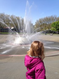 A gorgeous day at Seattle Center