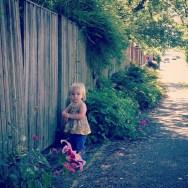 Walking in the neighborhood