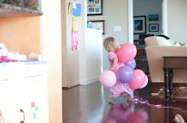 More balloons. More running.